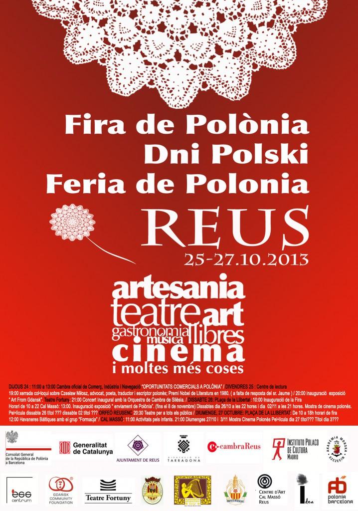 Actividades del 26 de octubre en reus. Feria de Polonia